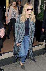 MARGOT ROBBIE Leaves Her Hotel in London 08/4/2016