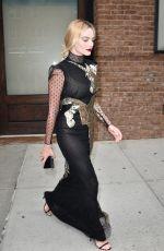 MARGOT ROBBIE Leaves Her Hotel in New York 08/01/2016
