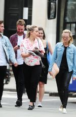 MARGOT ROBBIE Out and About in London 08/18/2016