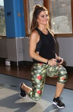 MARIA MENOUNOS at Tapout Fitness Event in New York 08/19/2016