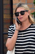 MARIA SHARAPOVA Out and About in New York 08/11/2016