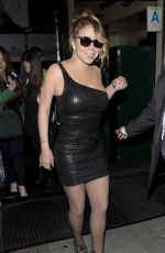 MARIAH CAREY at Mr Chow Restaurant in Beverly Hills 08/03/2016
