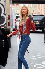 MARTHA HUNT Out and About in New York 08/01/2016