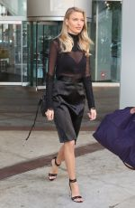 MARTHA HUNT Out and About in Toronto 08/008/2016