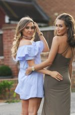 MEGAN and MILLY MCKENNA Out and About in Essex 08/05/2016