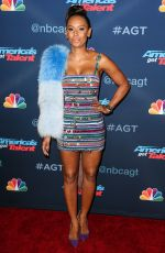 MELANIE BROWN at America's Got Talent Season 11 Live Show in Hollywood 08/23/2016