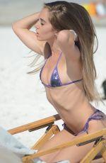 MELISSA LORI in Bikini at a Beach in Miami 08/03/2016