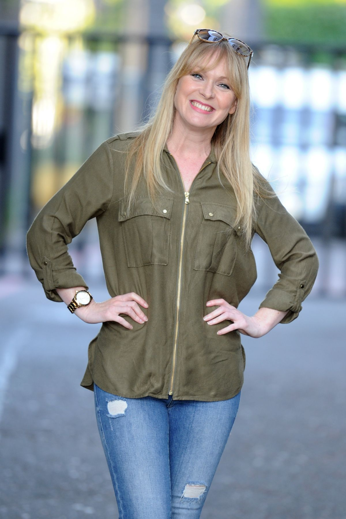 MICHELLE HARDWICK at ITV Studios in London 08/24/2016