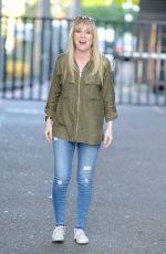 MICHELLE HARDWICK at ITV Studios in London 08/24/2016