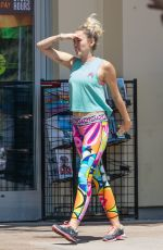 MILEY CYRUS Out and About in Calabasas 08/26/2016
