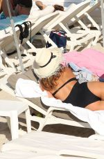 MILLIE MACKINTOSH in Swimsuit at a Beach in South France 08/10/2016