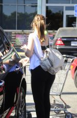 MINKA KELLY Leaves Whole Foods in West Hollywood 08/18/2016