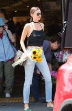 MIRANDA KERR Out Shopping in Brentwood 08/26/2016