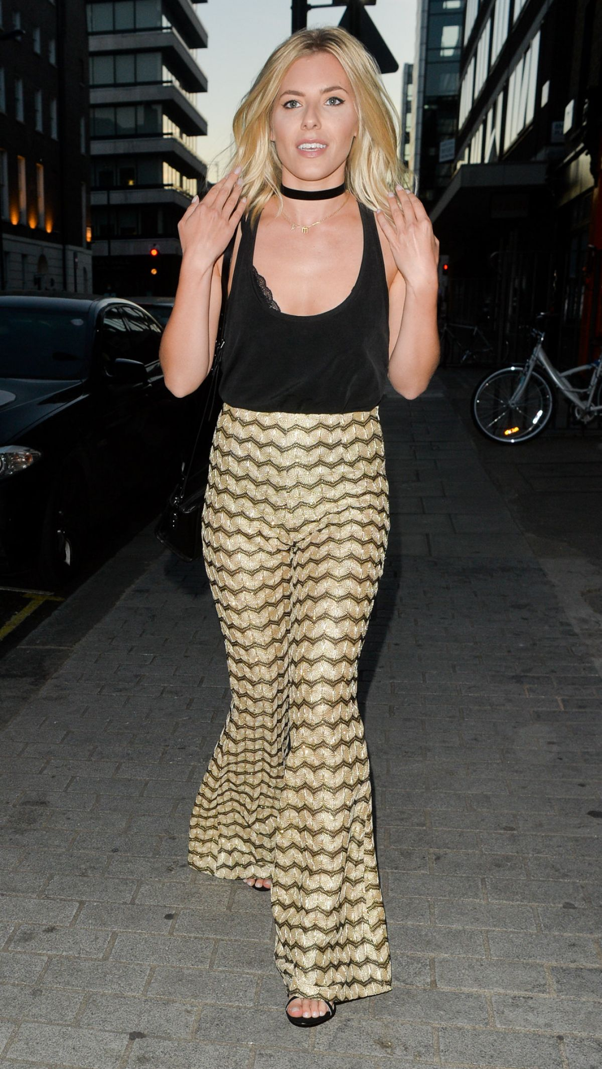 MOLLIE KING at Firehouse Restaurant in London 08/15/2016
