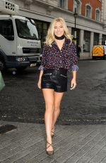 MOLLIE KING at Radio 1 in London 08/19/2016