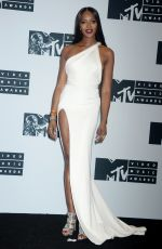 NAOMI CAMPBELL at 2016 MTV Video Music Awards in New York 08/28/2016