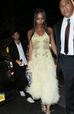 NAOMI CAMPBELL at Up & Down in New York 08/29/2016