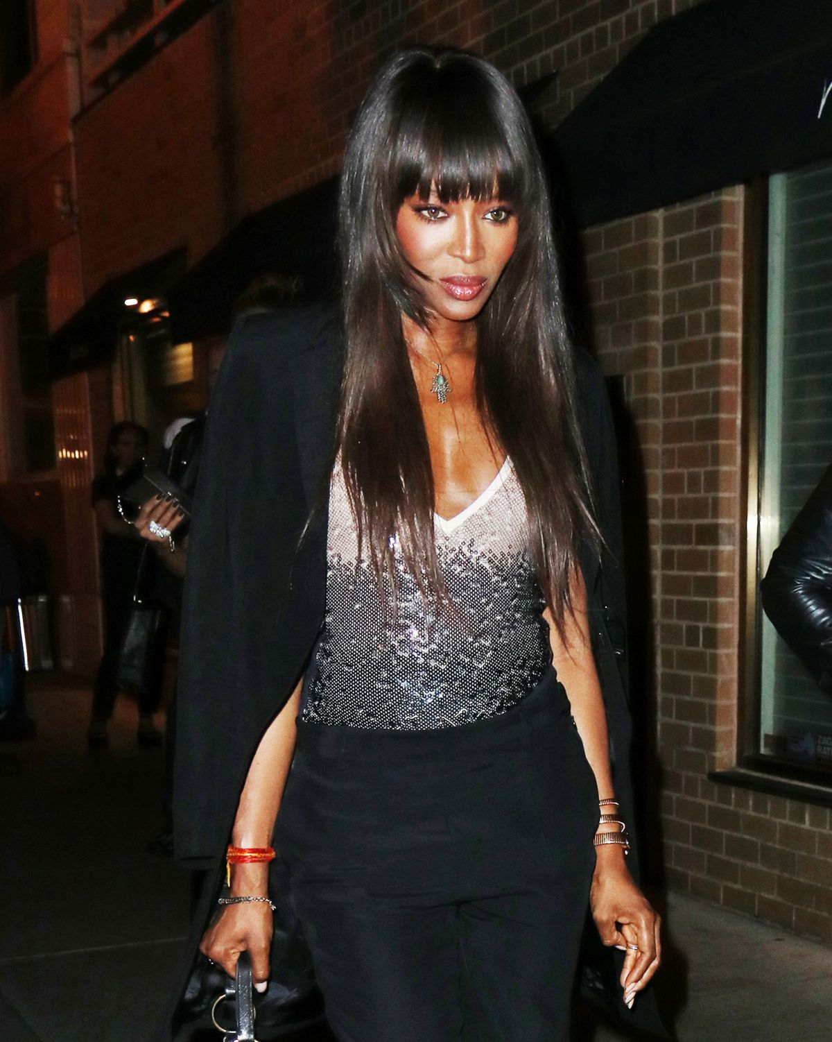 Naomi Campbell Out For Dinner In New York 08 04 2016