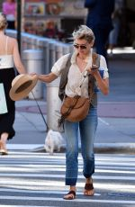 NAOMI WATTS Out and About in New York 08/23/2016