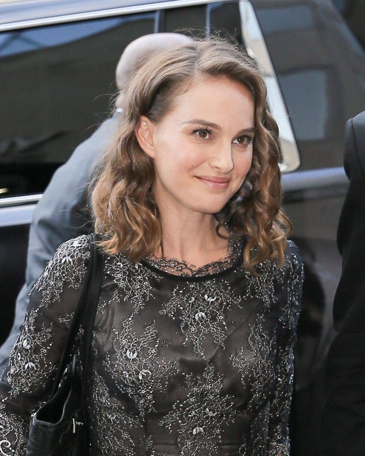 NATALIE PORTMAN Arrives at a Studio in New York 08/18/2016