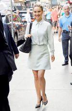 NATALIE PORTMAN Leaves Good Morning America in New York 08/15/2016
