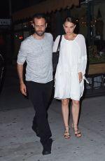 NATALIE PORTMAN Leaves Il Buco Italian Restaurant in New York 08/15/2016