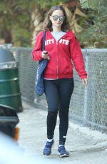 NATALIE PORTMAN Out at a Park in Los Feliz 08/02/2016