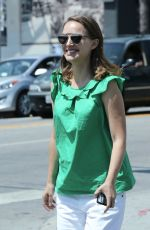 NATALIE PORTMAN Out in Los Angeles 08/26/2016