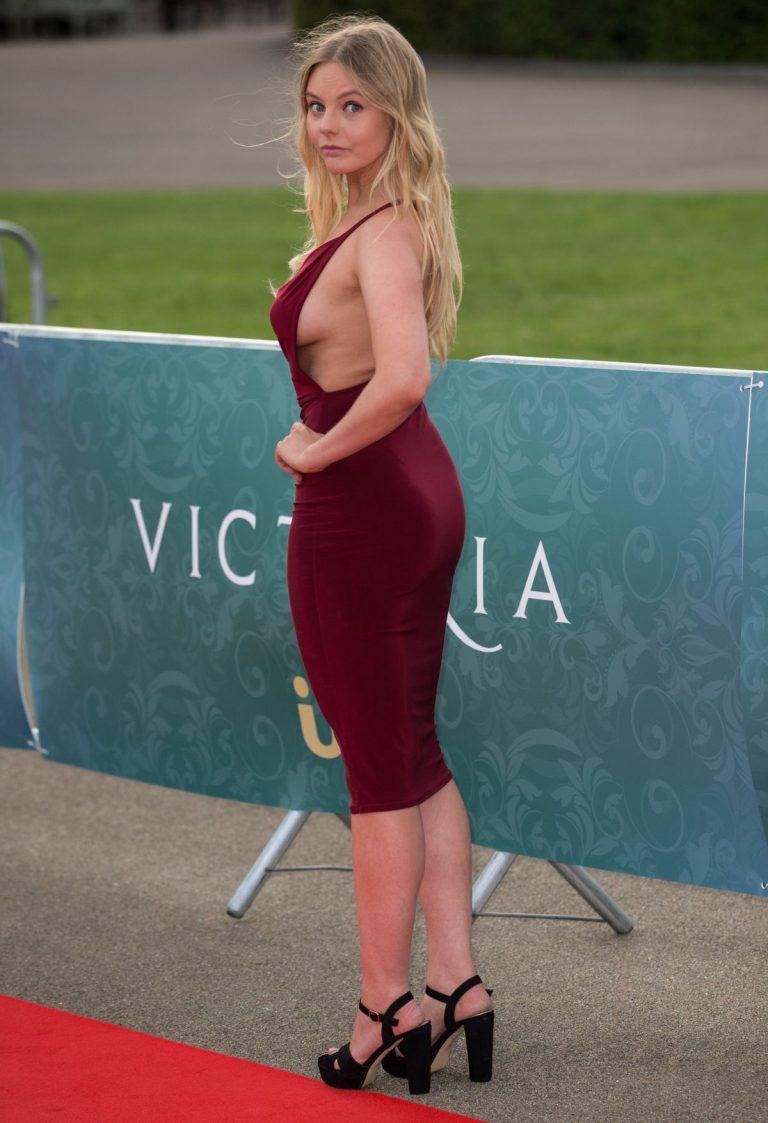 NELL HUDSON at Victoria World Premiere Screening 08/11