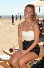 NINA AGDAL at Sports Illustrated Summer of Swim Fan Festival at Coney Island 08/28/2016