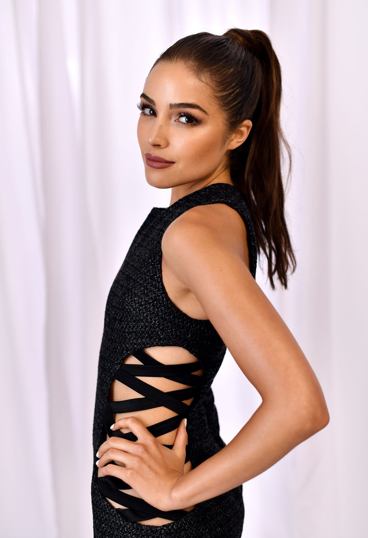 OLIVIA CULPO at Perverse Sunglasses Working Showroom Opening in Los Angeles 08/18/2016