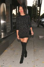 OLIVIA MUNN in Over Knee Boots at Craig