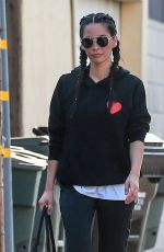 OLIVIA MUNN Out and About in West Hollywood 08/25/2016