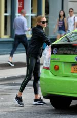 OLIVIA PALERMO Heading to a Gym in New York 08/16/2016