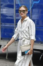 OLIVIA PALERMO Out in New York 08/16/2016
