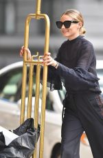 OLIVIA PALERMO Out in New York 08/17/2016