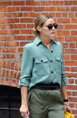 OLIVIA PALERMO Out in New York 08/21/2016