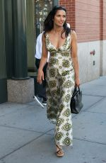 PADMA LAKSHMI Out and About in New York 08/03/2016