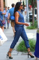 PADMA LAKSHMI Out and About in New York 08/15/2016