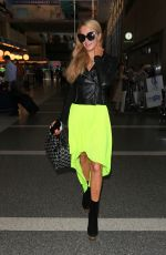 PARIS HILTON at Los Angeles International Airport 08/26/2016