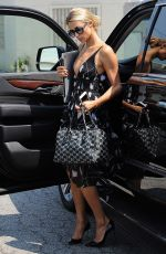 PARIS HILTON Out and About in West Hollywood 08/25/2016