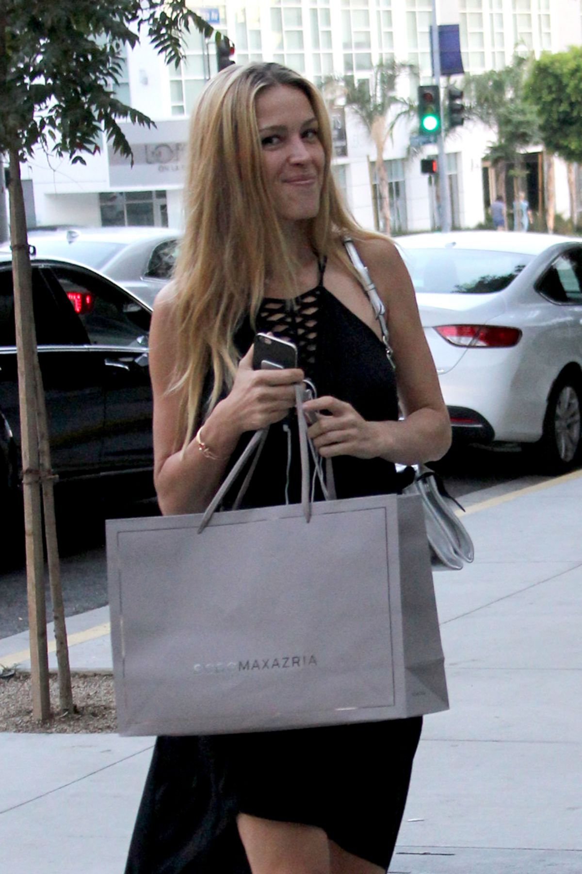 PETRA NEMCOVA Out Shopping in Los Angeles, 08/16/2016