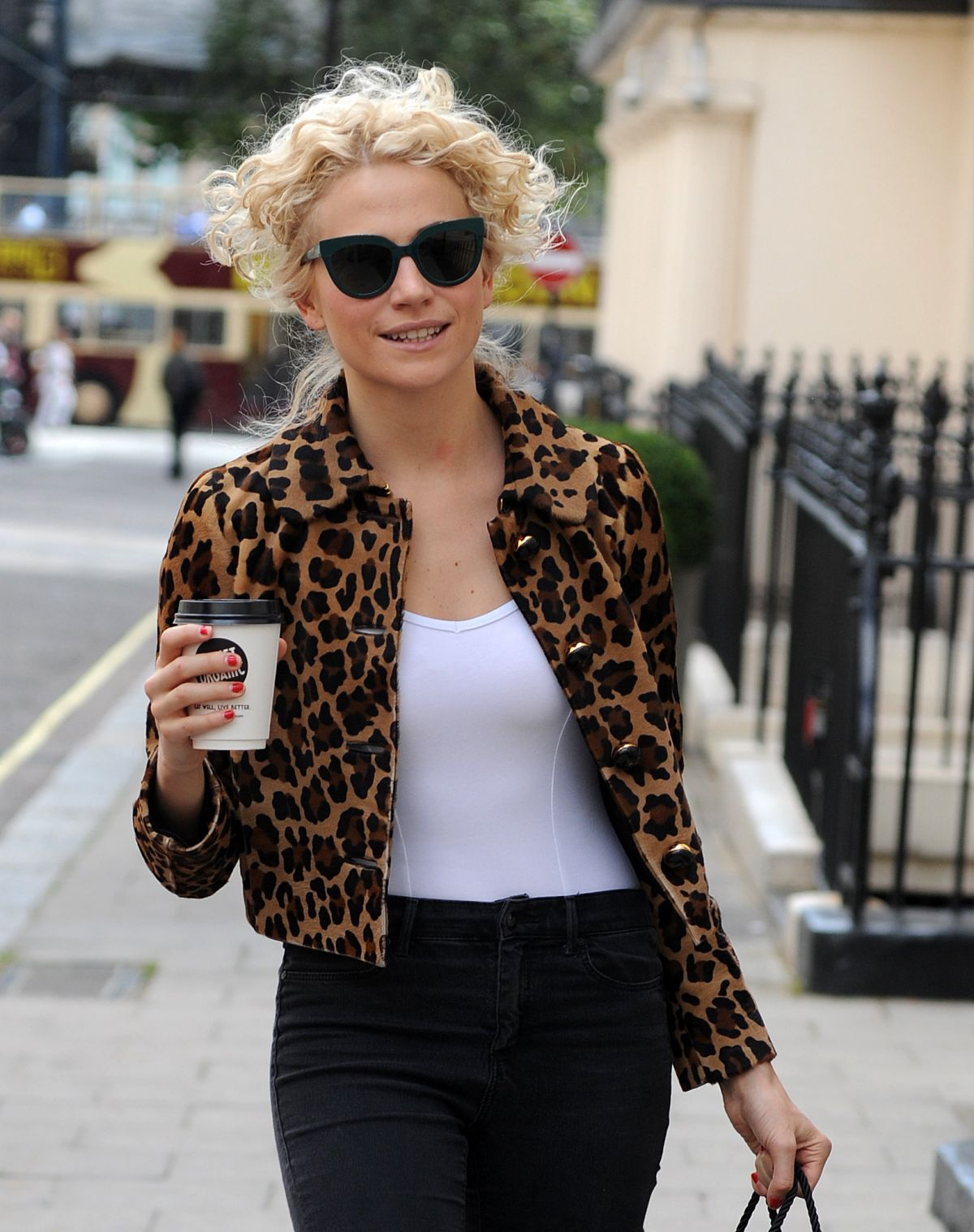 PIXIE LOTT Arrives at Haymarket Hotel in London 08/20/2016