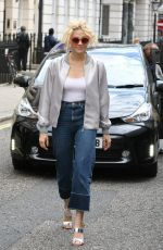 PIXIE LOTT Arrives at Theatre Royal in London 08/10/2016