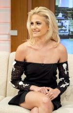 PIXIE LOTT at Good Morning Britain in London 08/01/2016