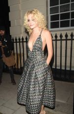 PIXIE LOTT Leaves Haymarket Theatre in London 08/09/2016