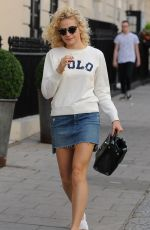 PIXIE LOTT Out and About in London 08/06/2016