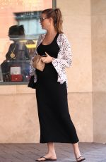 Pregnant BEHATI PRINSLOO Out in Beverly Hills 08/02/2016