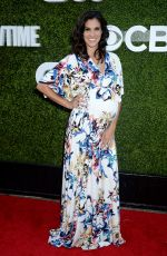 Pregnant DANIELA RUAH at CBS, CW and Showtime 2016 TCA Summer Press Tour Party in Westwood 08/10/2016