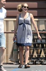 Pregnant TERESA PALMER Out Shopping in Los Angeles 08/22/2016